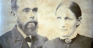 The original owners - John and Emma Reid