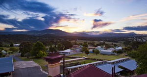 Sunset over the New England Tablelands
