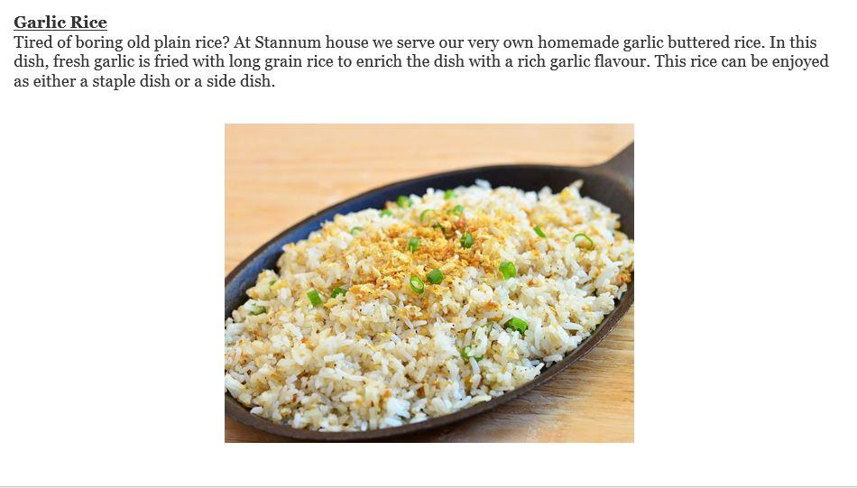 garlic-rice
